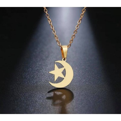 necklace moon sky