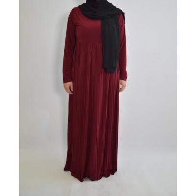 Abaya-plissée