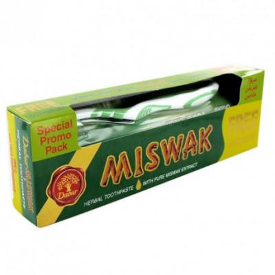 Dentifrice-au-Siwak-avec-brosse-à-dents