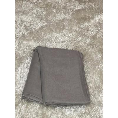 Hijab viscose gray