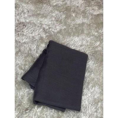 Hijab-viscose-gris-fonce