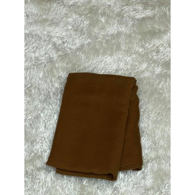 Hijab-viscose-marron