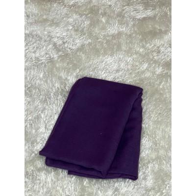 Hijab viscose purple