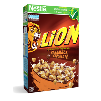 Lion caramel chocolate