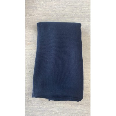 Hijab viscose navy blue