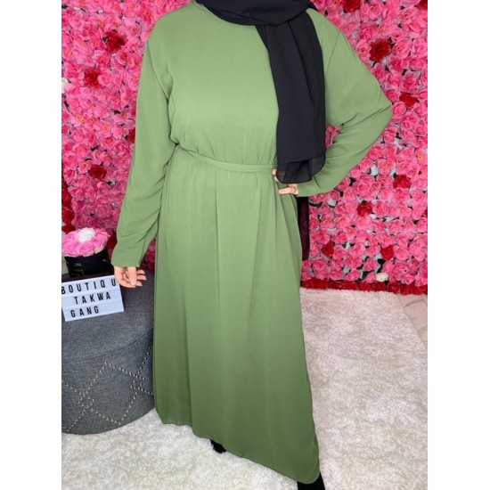 abaya-mousseline-kaki