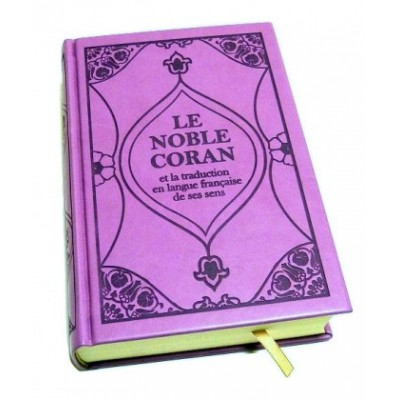 Le Saint Coran (MAUVE) (french arabic)