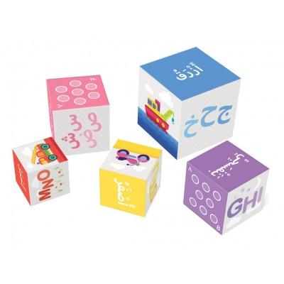 Ludocube, jeu éducatif pour apprendre l'arabe, le français et les chiffres