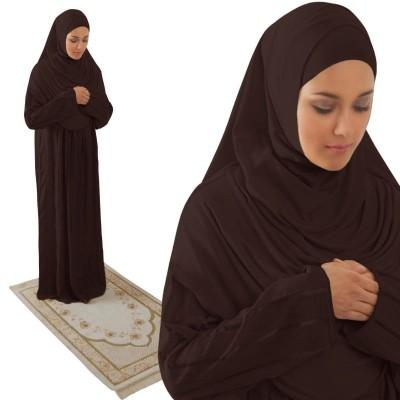 Brown prayer dress