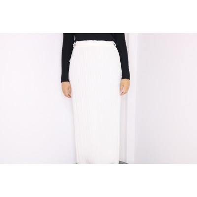 jupe-plisse-blanche