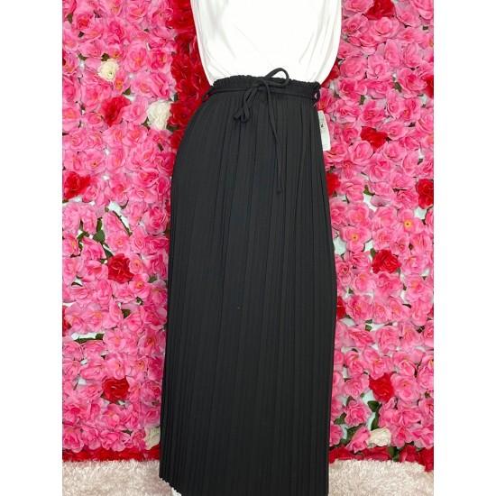 jupe-plisse-noir