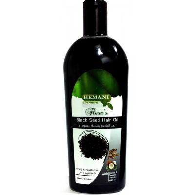 Black seed oil for hair
